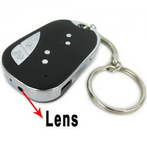 Car-Key Shape Mini Spy Camera with Network Camera Function